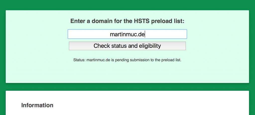 HSTS-Eintrag für martinmuc.de
